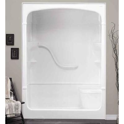 Mirolin Madison 60 3 Pc Shower Stall With Seat Home Depot