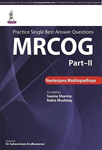 Sba Questions For The Part 2 Mrcog Pdf Array