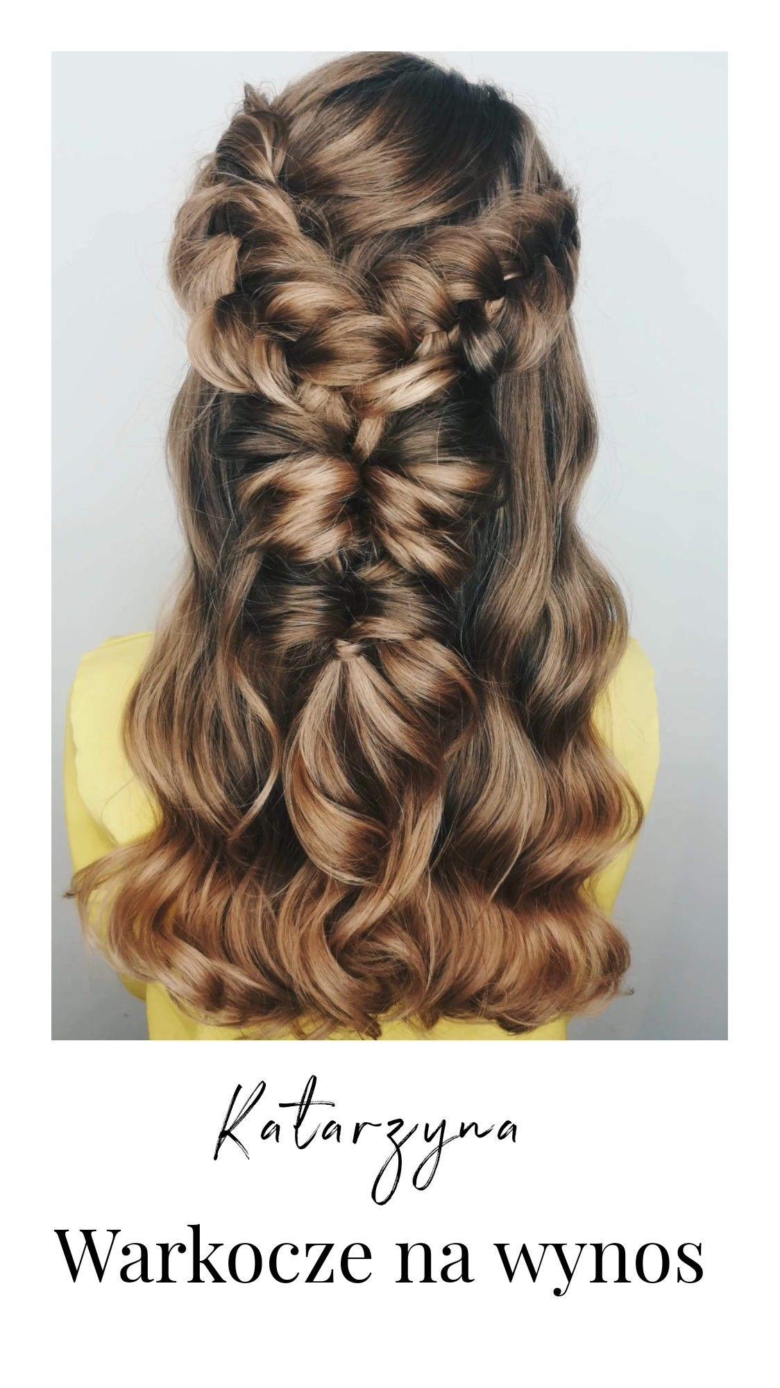 Fryzury Długie Włosy Warkocz Braids Hair Hairstyles W