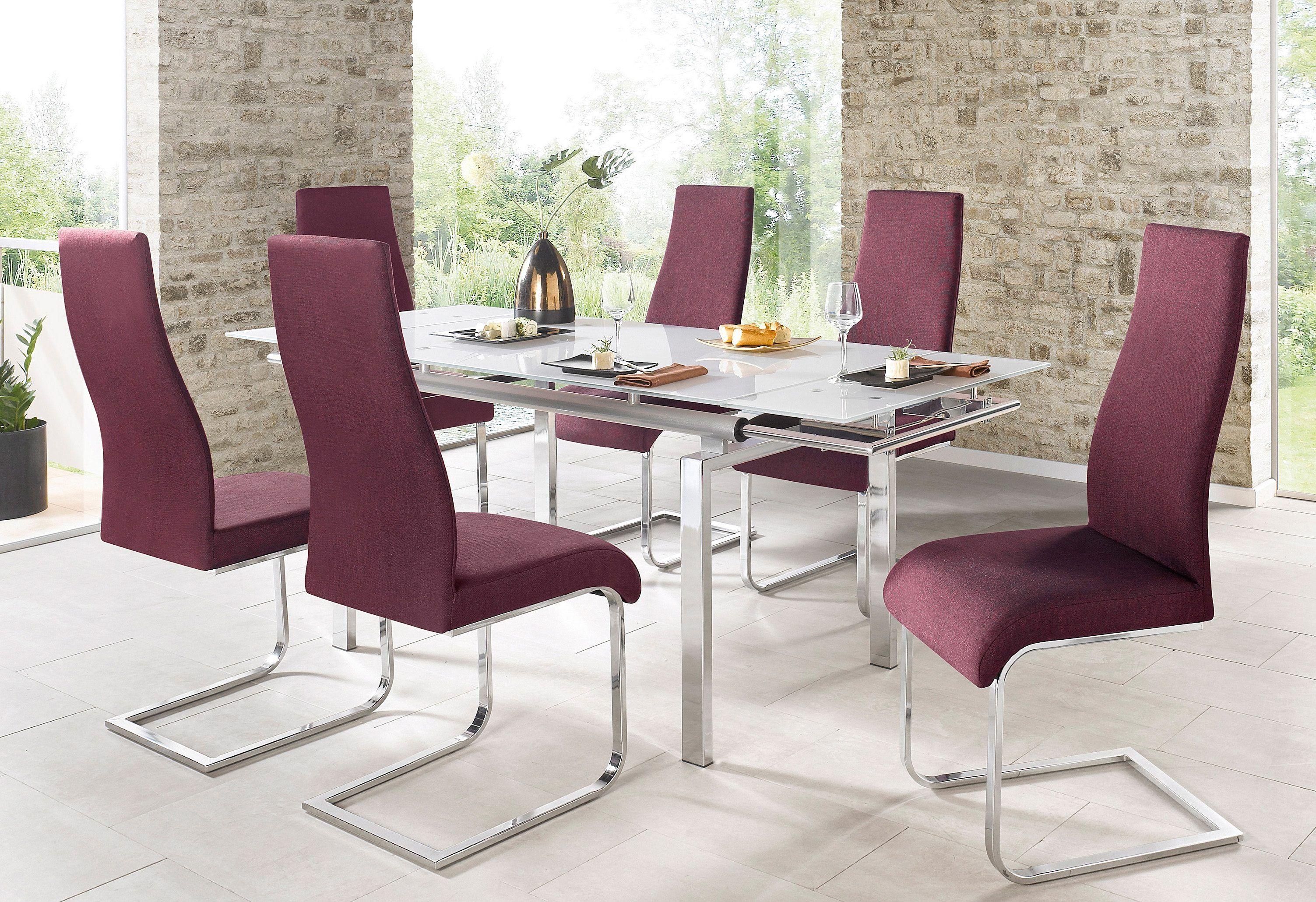 Tisch weiß, eckig, B/T/H: 140-200/80/75cm, STEINHOFF Jetzt bestellen ...