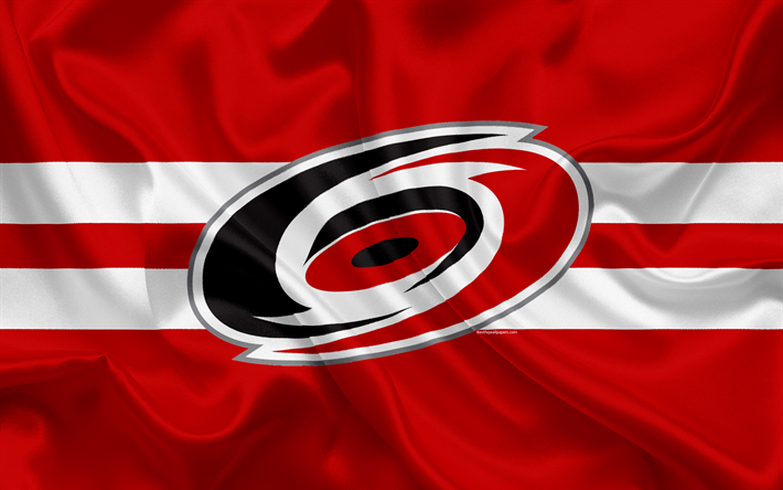 Download wallpapers Carolina Hurricanes, hockey club, NHL, emblem, logo, National Hockey League, hockey, Raleigh, North Carolina, USA