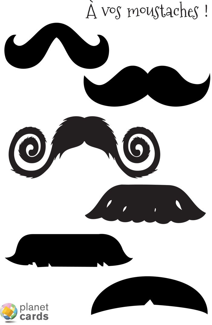 planche moustache photobooth t l charger projets essayer pinterest moustache. Black Bedroom Furniture Sets. Home Design Ideas