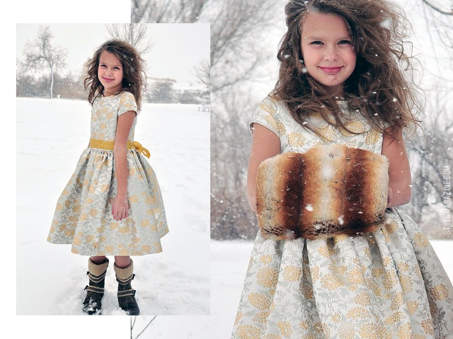 dresses in brocade pattern by simple simon patterns | Kid\'s Clothes ...