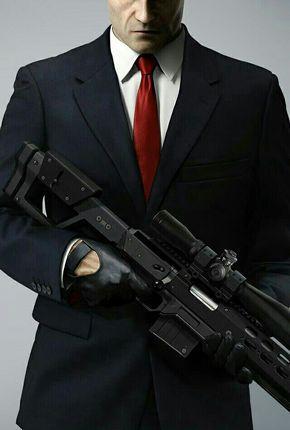 Hitman Sniper Agent 47 Com Imagens Hitman Agente 47