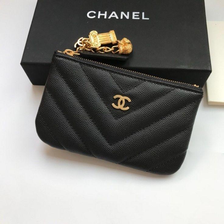 chanel card wallet womens
