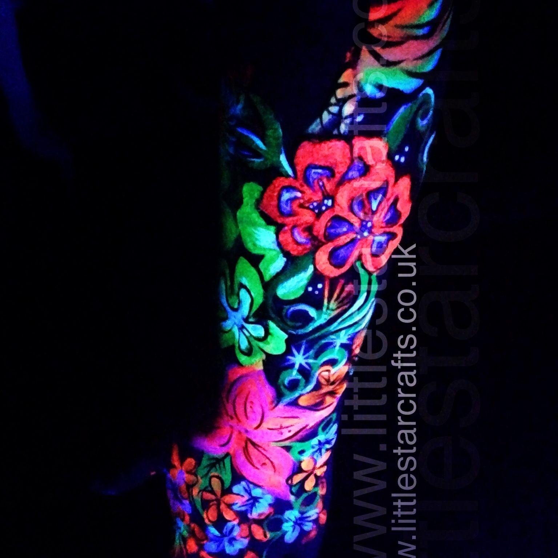 Park Art|My WordPress Blog_Glow In The Dark Flowers Without Blacklight