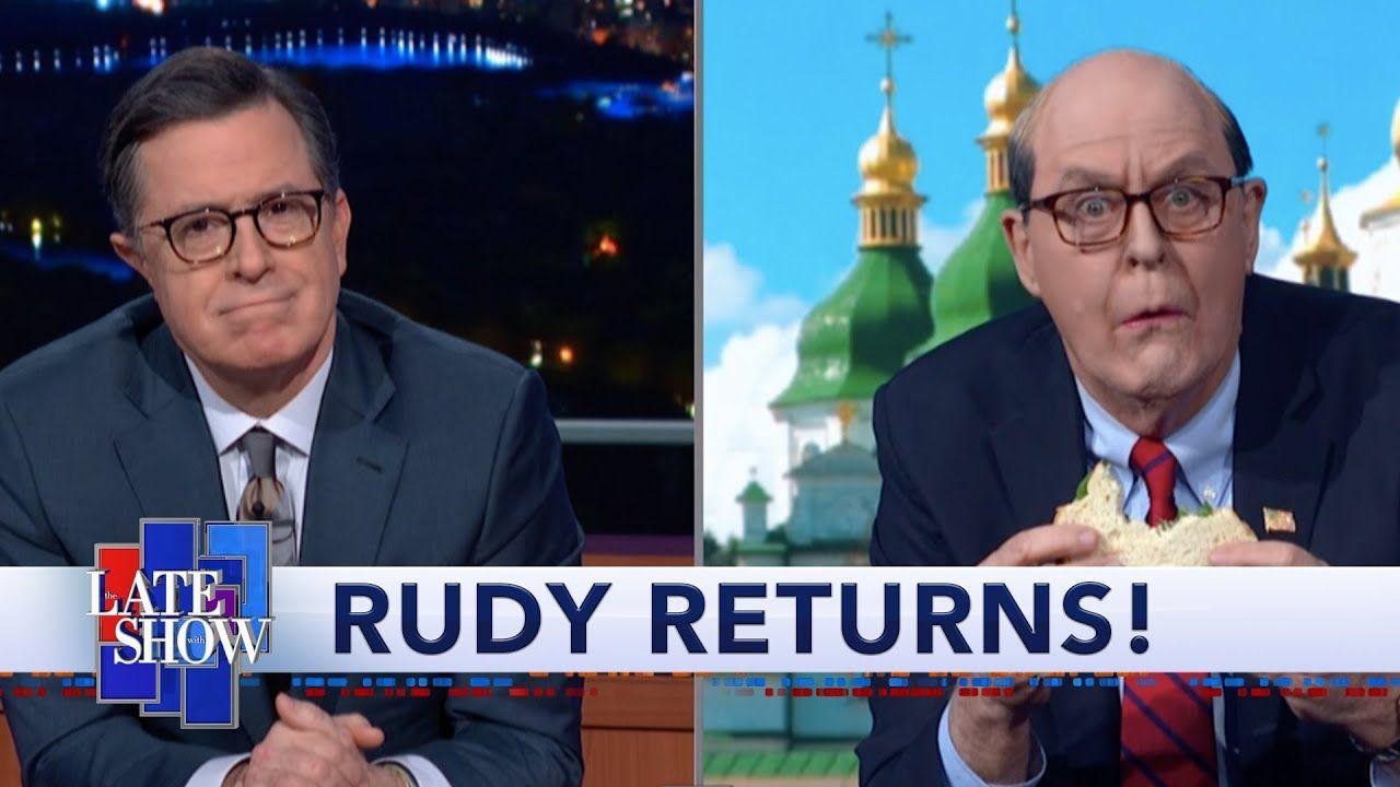 Rudy Giuliani Returns From His Conspiracy Tour Of Ukraine Youtube Rudy Giuliani Racist People The Incredibles