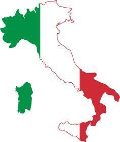 Bandeira Da Italia Aprender Italiano Bandeiras Italianas E Italia