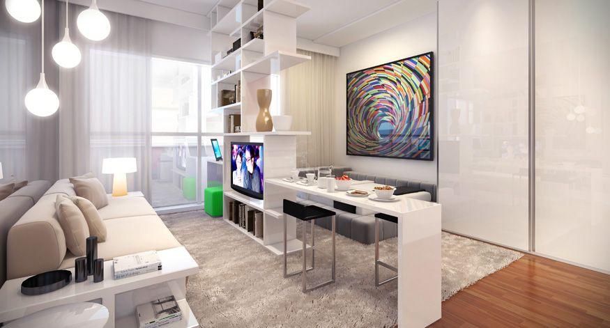 Studio   Cozy apartment decor, Apartment solutions, Small ...