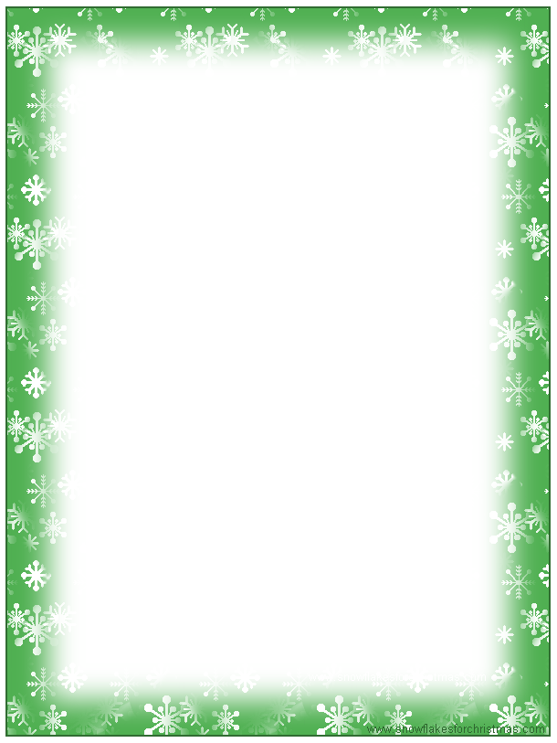 image regarding Free Printable Christmas Letterhead called No cost+Printable+Xmas+Stationery+Borders Xmas