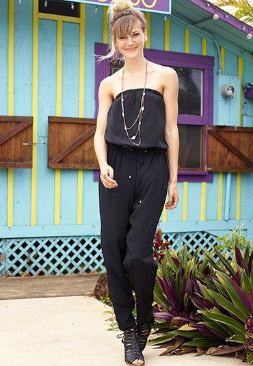 black tie waist jumpsuit - maurices.com