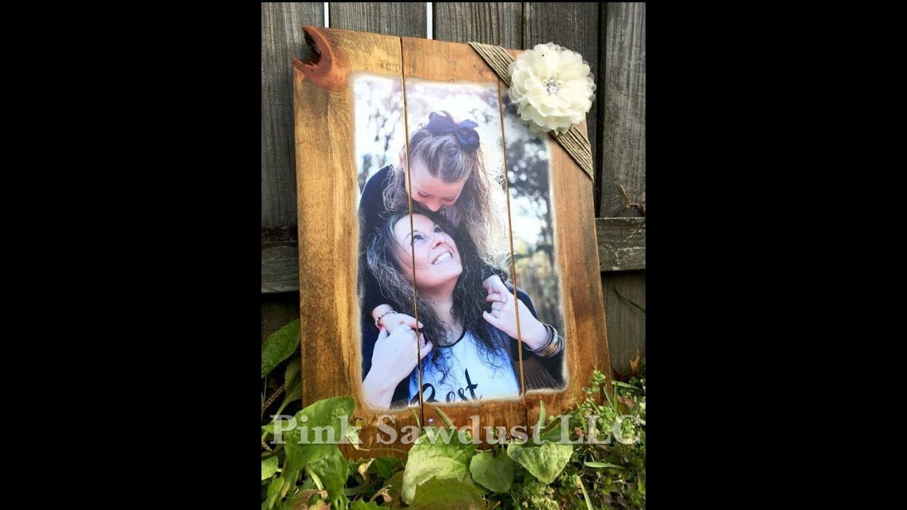 How To Mod Podge A Picture To A Wooden Canvas Crafts With