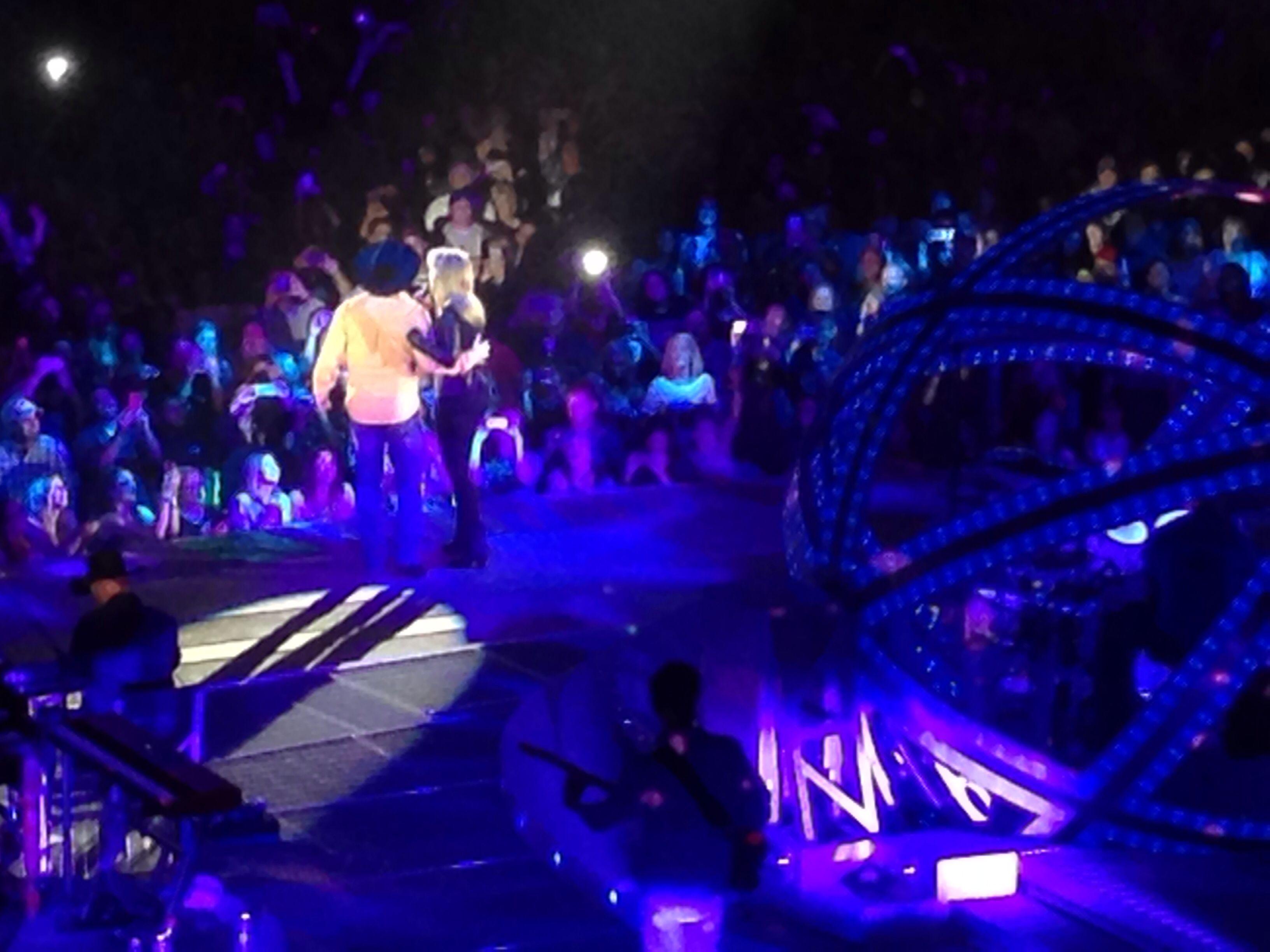 Garth and Trisha