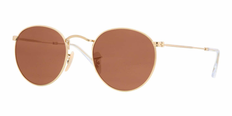 Ray-Ban RB3447 - Round Metal Prescription Sunglasses | Pinterest