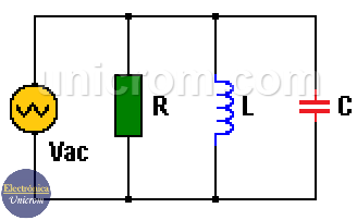 Circuito Rlc Paralelo Resonancia En Un Circuito Rlc Paralelo Circuito Circuitos Electricidad Y Electronica