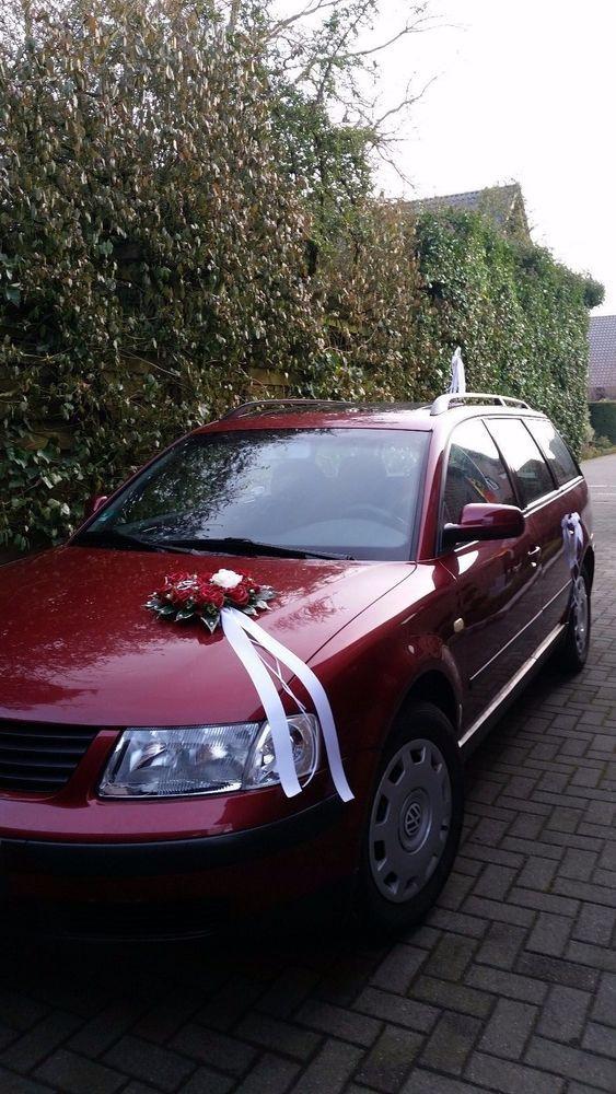 Autoschmuck Hochzeit Autodeko Blumen Bluten Herz Unbedingt