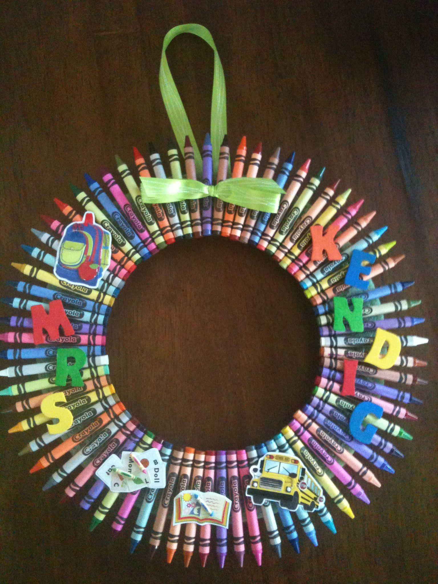 Kindergarten teacher gift   My Projects   Pinterest   Teacher gifts ...