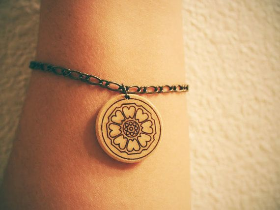 White Lotus Avatar The Last Airbender Bracelet Wood Avatar