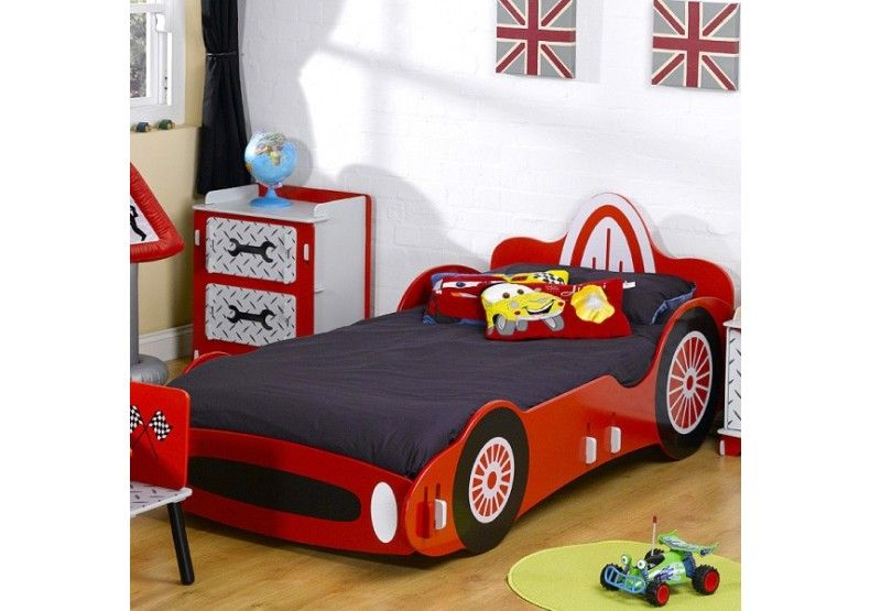 Racing Sports Car Single Bed - Frame Only