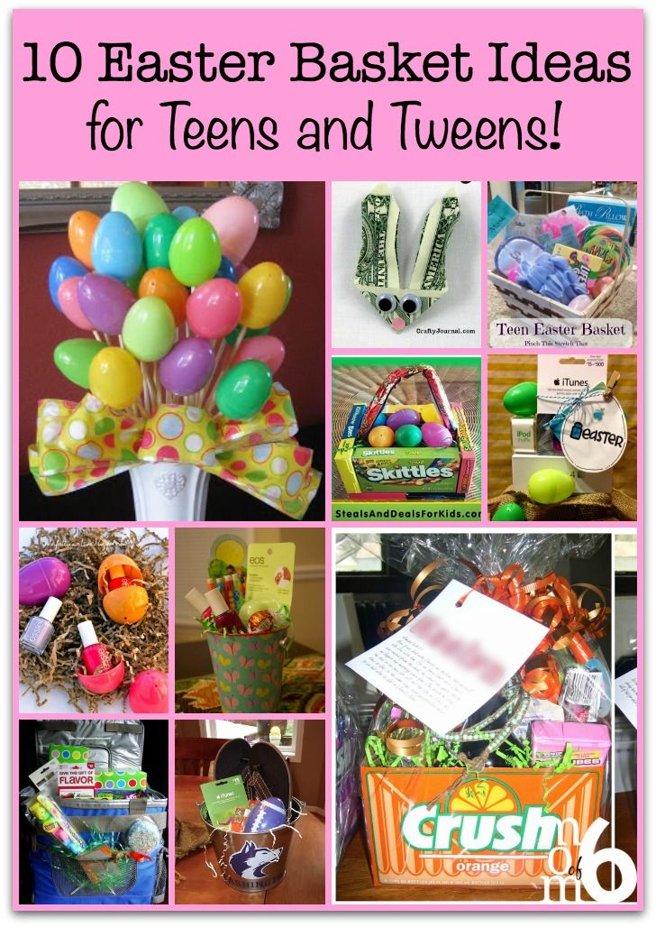 10 easter basket ideas for teens and tweens basket ideas if you are looking for some creative inspiration for your easter baskets this year here negle Images
