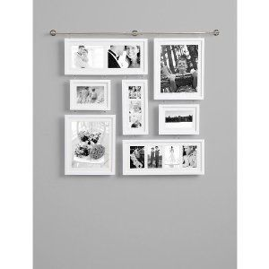 Amazon Com Deluxe Wall Gallery Frame White Picture Frame