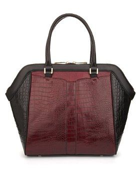 Autograph Leather Panelled Tote Bag - quite a good 'tribute'