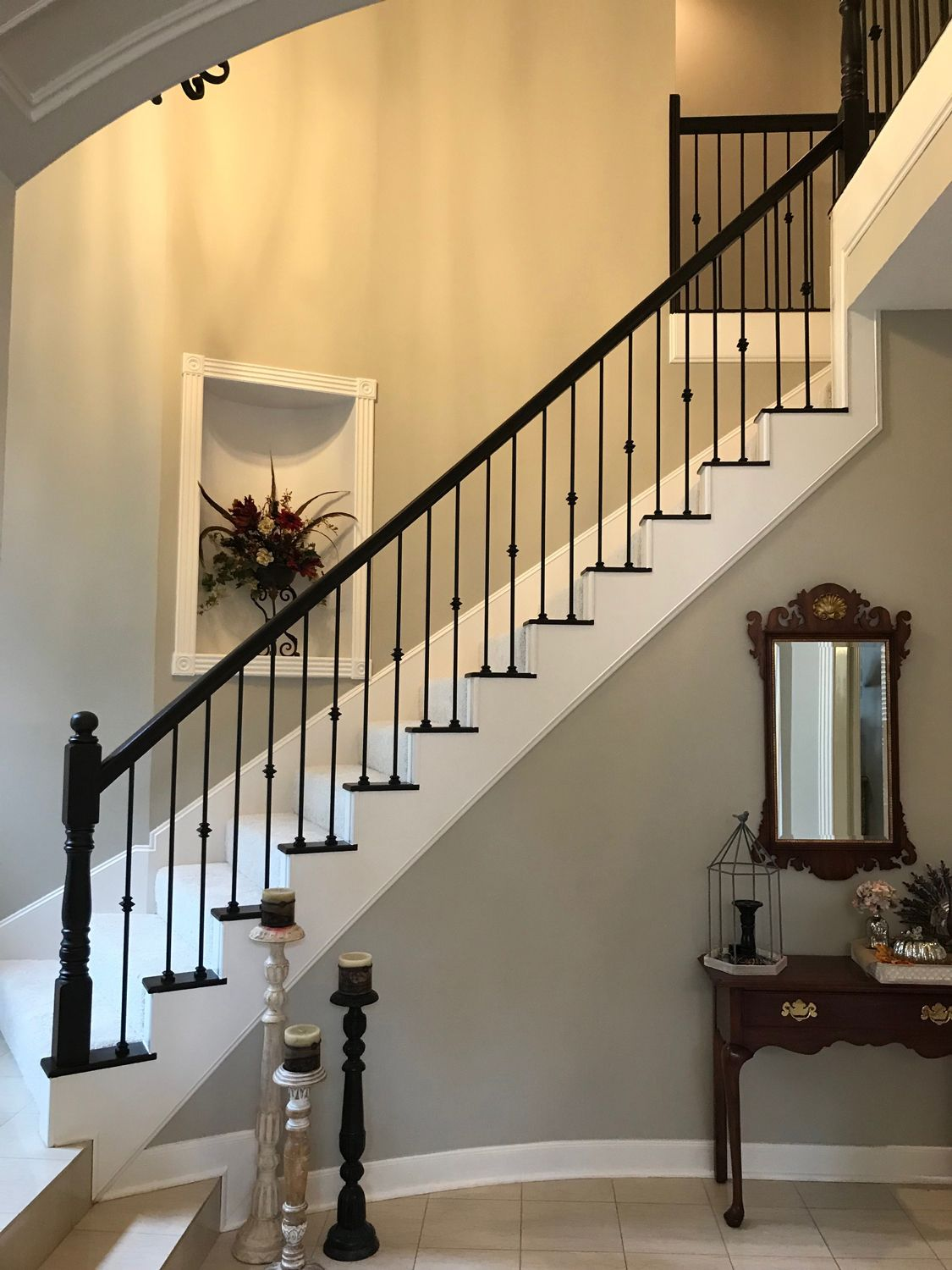 Our Powdercoated Wroughtiron Balusters Are Available In A Selection Of Finishes And Always Give Your St Stairs Balusters Staircase Remodel Staircase Design