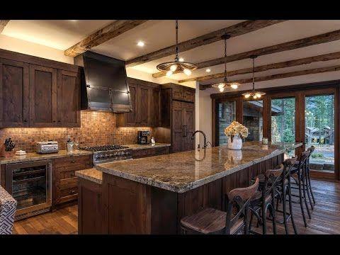 Resultado de imagen de cocinas rustica de lujo kitchens for Cocinas grandes rusticas