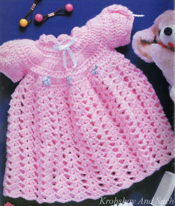 Crochet Baby Precious Dress Crochet Pattern Pdf Instant Download
