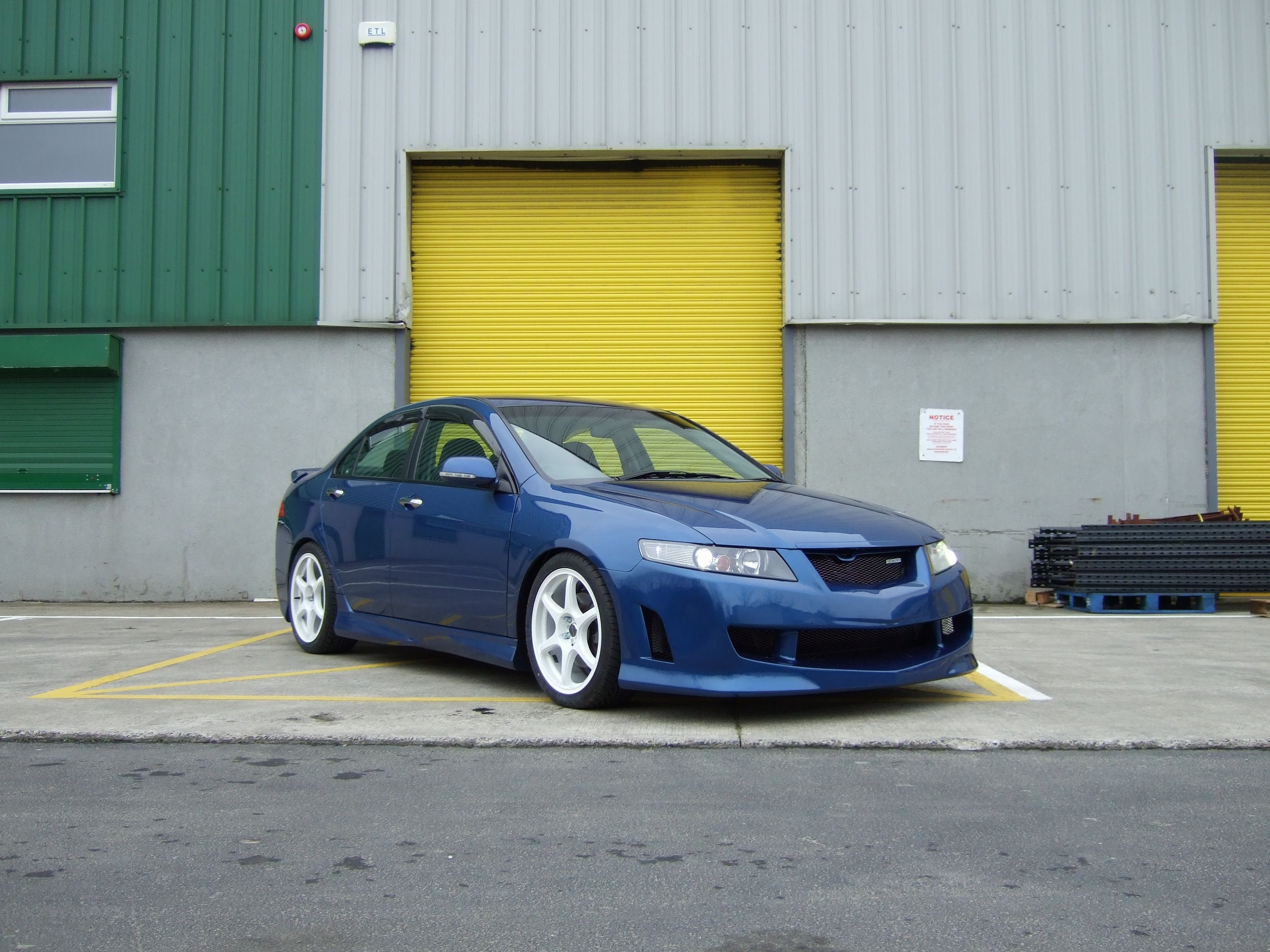 Carbon culture mugen style body kit honda accord 2003 2007