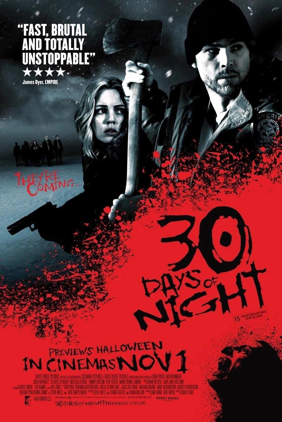 30 Days Of Night 2007 30 Days Of Night Horror Filme Filme