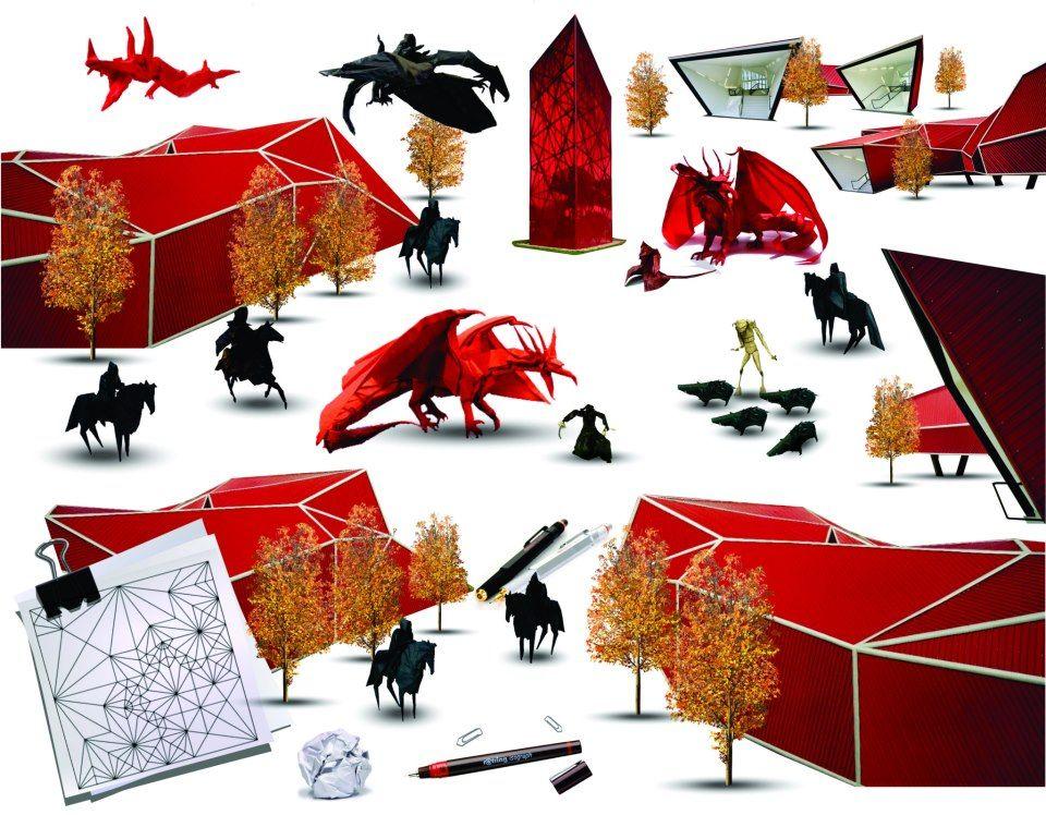 historia grafico-digital + origami
