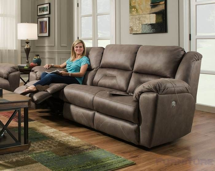 Southern Motion Pandora Double Reclining Sofa With Headrest Memory Plus 751 61mp
