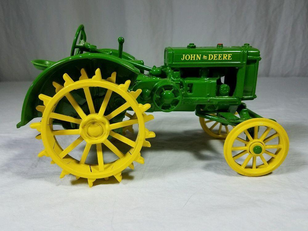 Deere Tractors On Steel Wheels : John deere model c steel wheel collectible toy