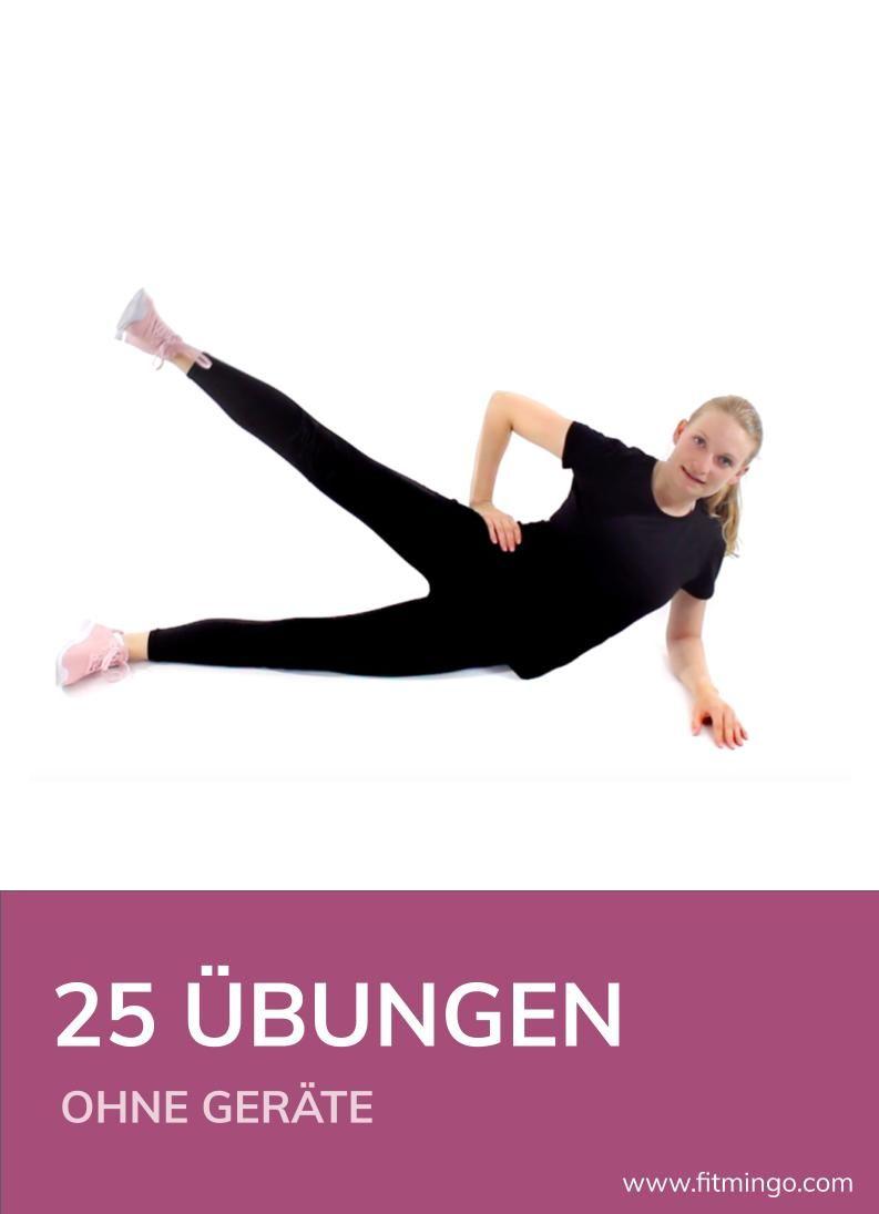 25 Übungen ohne Geräte