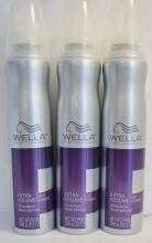 Wella Professionals Extra Volume Styling Mousse. Hair is left glossy, controlled and salon perfect.