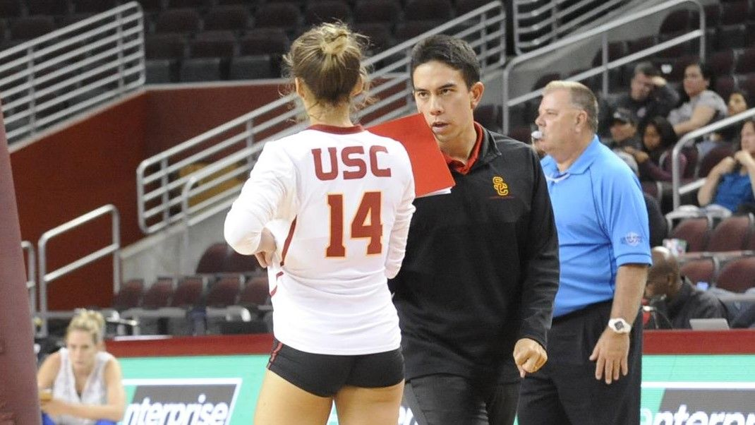 Jason Kennedy Promoted To Associate Head Coach Alexis Olgard Returns Usc Athletics Usc Athletics Jason Kennedy Volleyball News