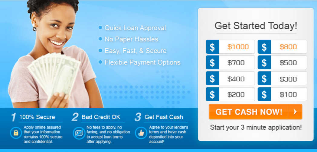 Payday loan broker charges image 1