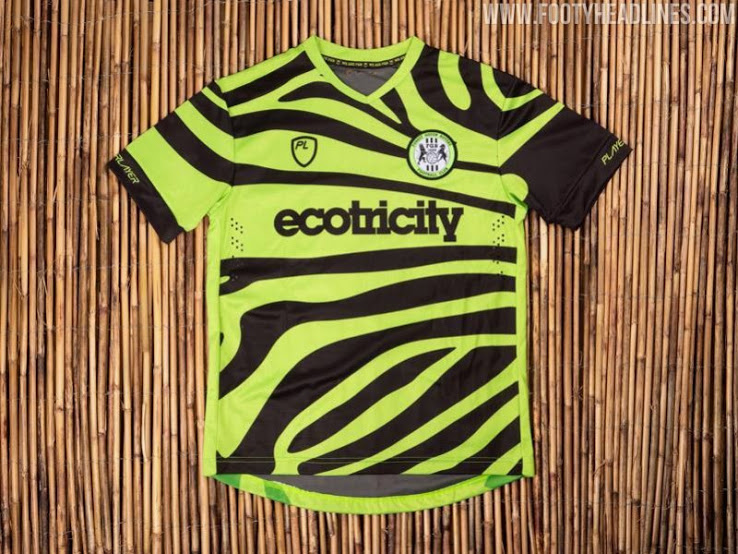 Made From 50 Bamboo Forest Green Rovers 19 20 Home Away Kits Revealed Footy Headlines Incredible Shirt Zebra Scarf Forest Green