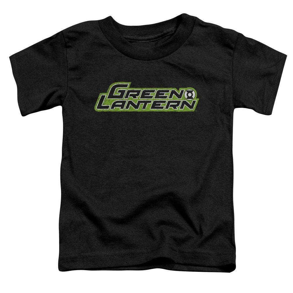 Green Lantern/Scribble Title Short Sleeve Toddler Tee in , Toddler Boy's