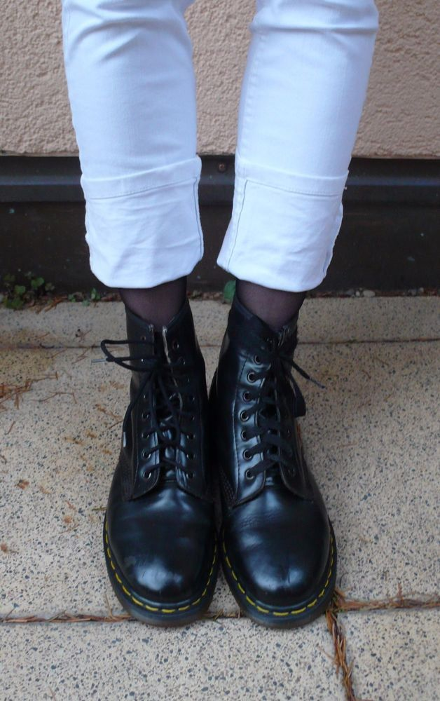 Dr. Martens Stiefel, Original Made in England, schwarz Gr. 42, gern  getragen | eBay