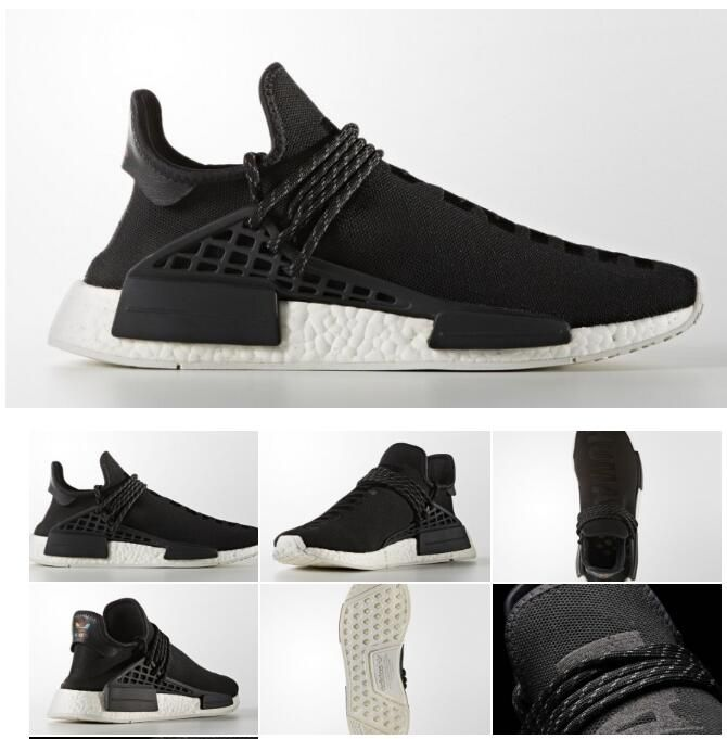 234a6a99afcce Pharrell x adidas NMD Human Species In Core Black