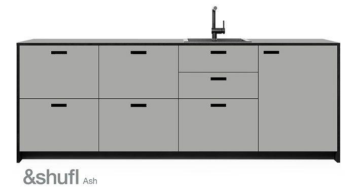 A-Makeover-for-your-IKEA-Kitchen-by-\Shufl-13 Kitchen - linoleum arbeitsplatte küche