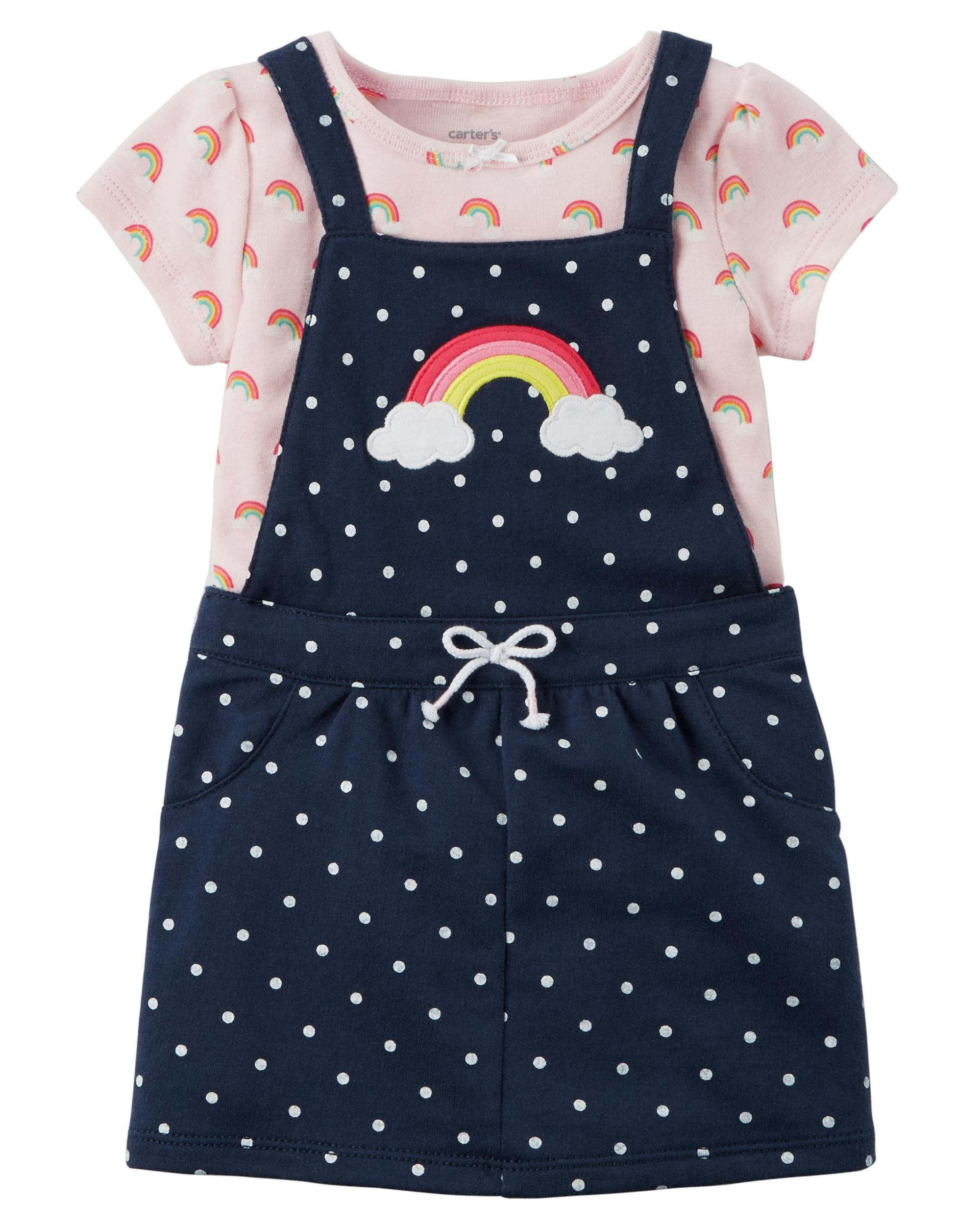 3455fb813 2-Piece Bodysuit & Jumper Set | Baby Clothes! | Carters baby girl ...
