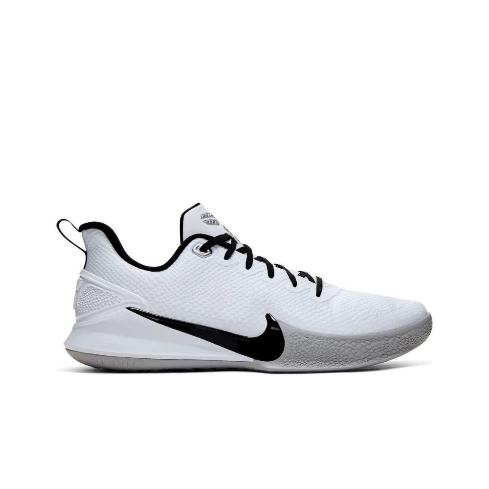 Nike Mamba Focus White Black Grey Women S Basketball Shoe Hibbett City Gear In 2020 Womens Basketball Shoes Girls Basketball Shoes Womens Basketball