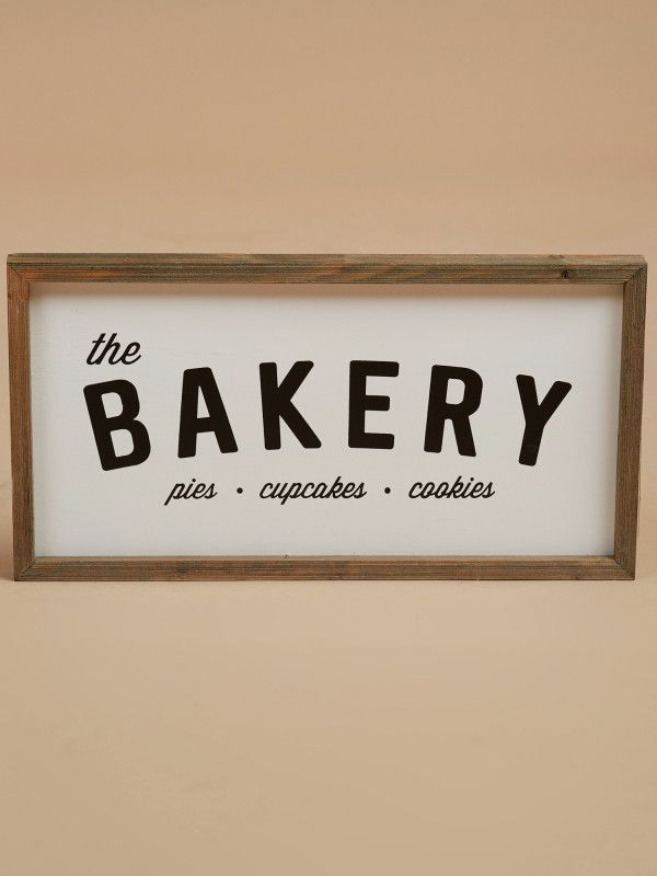 Barn Signs Decor Bakery Barn Sign  Giftshome Decor  Home Apartment Pinterest