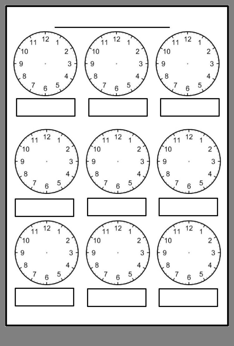 Pin By Ewa Marcinek On Pomys Aring Y Math Clock Worksheets Blank Clock Clock Worksheets Blank Clock Faces Clock Template [ 1108 x 750 Pixel ]