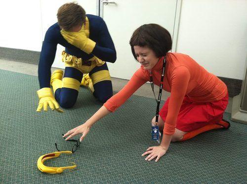 Cyclops and Velma.