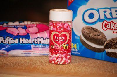 No Bake Valentines Treats!  #oreocakesters #oreos #nobake #valentines