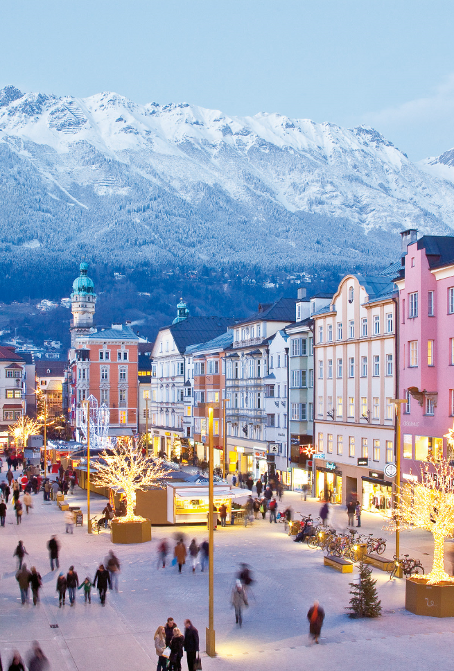how to travel from vienna to innsbruck